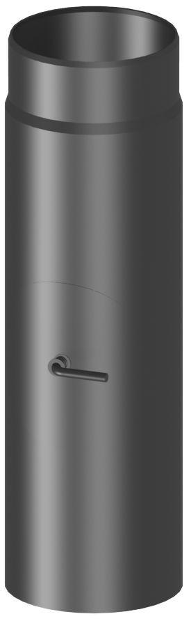 30 cm met klep en reinigingsluik