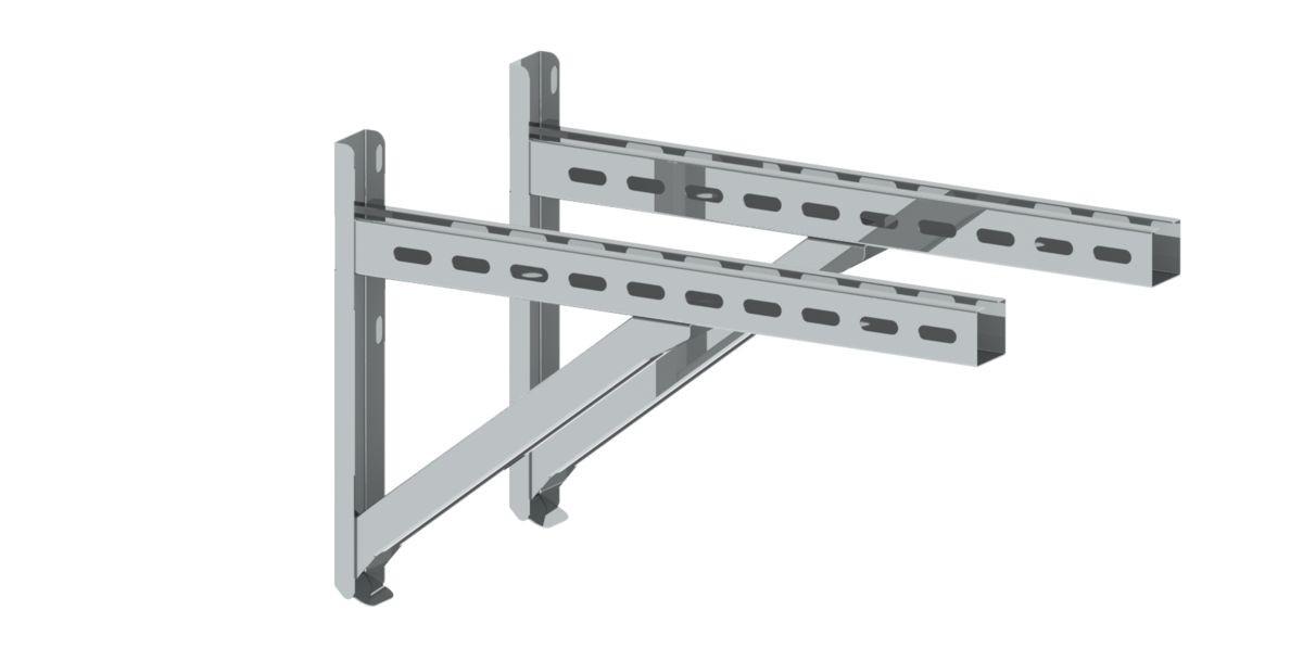 Wandstütze & Querträger Typ II 500 mm