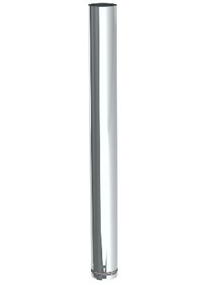 Pellet kachelbuis 1 Mtr 80 mm